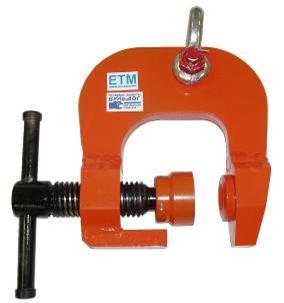 Захват грузоподъемный струбцинный для металлического профиля «БУЛЬДОГ-15»