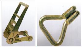 Механизмы с храповым натяжным устройством и крюки