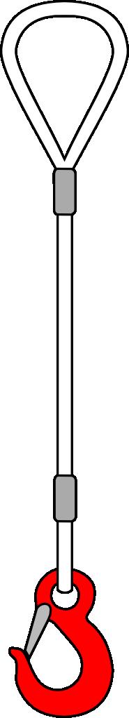 1СК (петля-крюк)